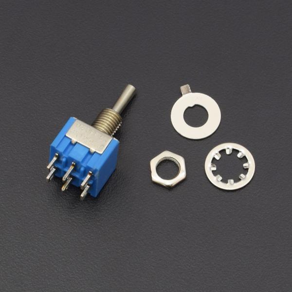 5 x Mini Momentary On Off On 6Pin Toggle Switch Model Railway SPDT 6mm J VJEU